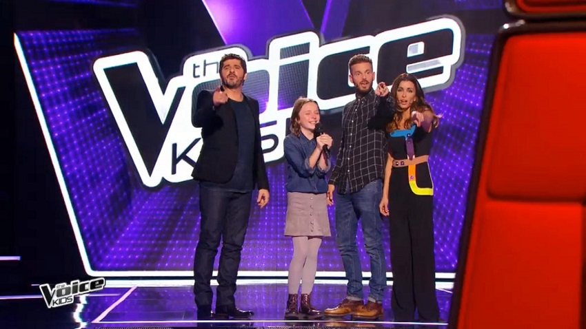 audiences tv the voice kids garde l 39 avantage sur tf1. Black Bedroom Furniture Sets. Home Design Ideas